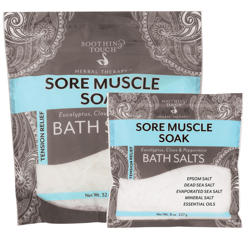 Sore Muscle Soak Bath Salts