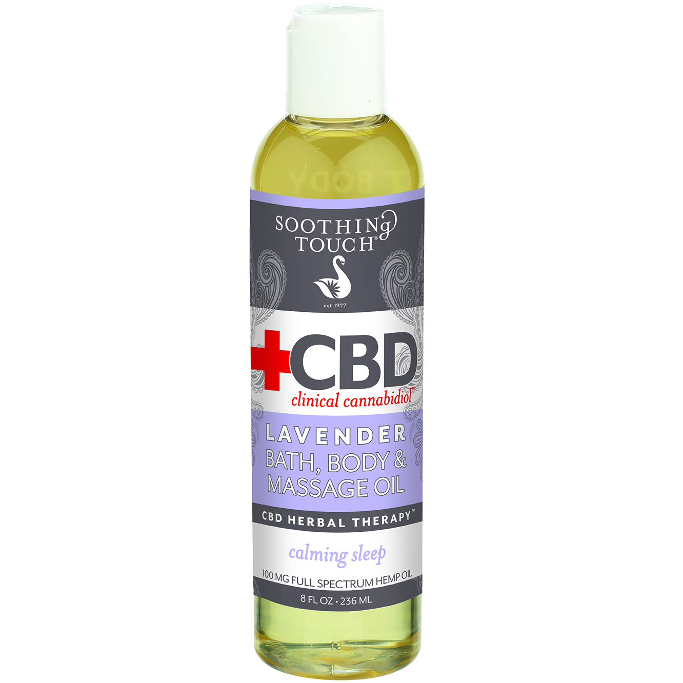CBD Lavender Bath & Body Oil 100 mg